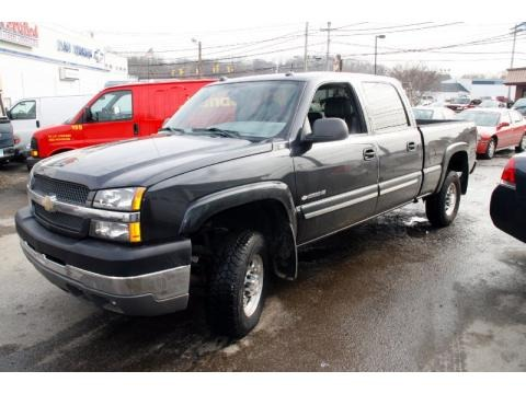 2004 chevrolet silverado 2500hd lt crew cab data info and specs. Black Bedroom Furniture Sets. Home Design Ideas