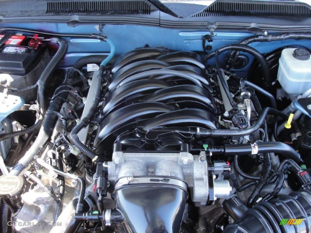 2006 Mustang GT Premium Coupe - Windveil Blue Metallic / Light Graphite photo #25