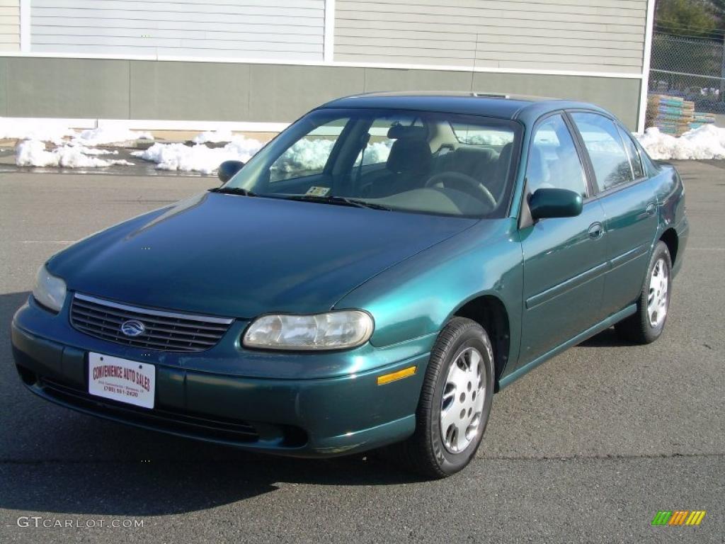 Dark Jade Green Metallic 1998 Chevrolet Malibu Sedan
