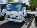 White - N Series Truck NPR 4500 Chassis Photo No. 1
