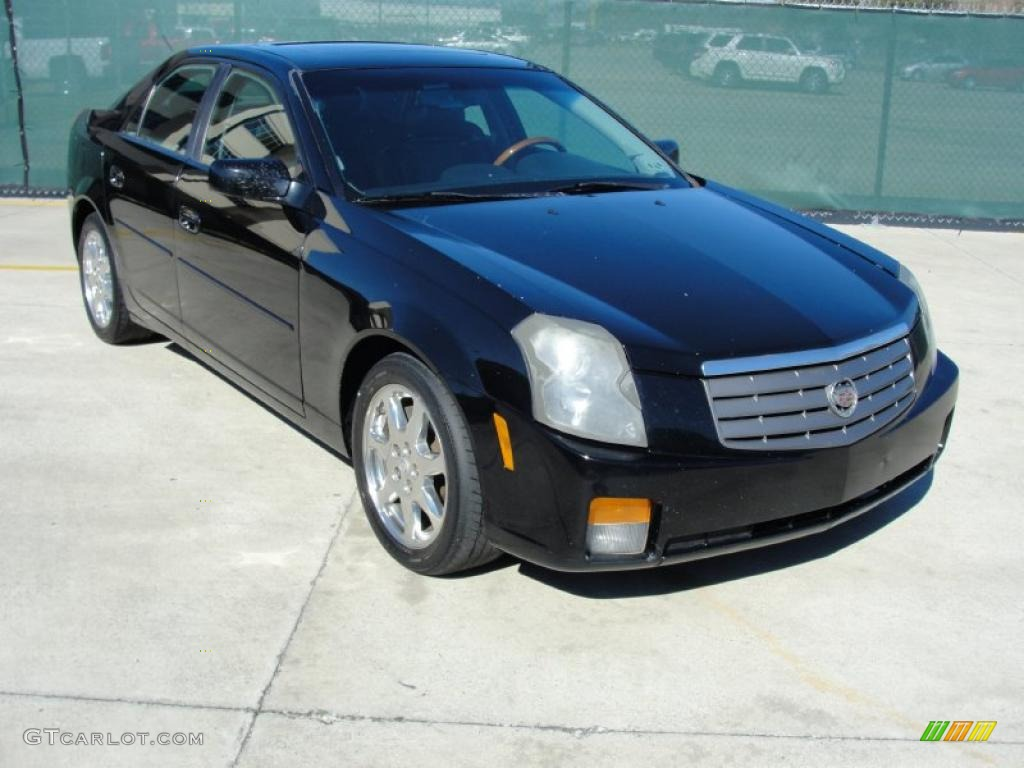 sable black 2003 cadillac cts sedan exterior photo. Black Bedroom Furniture Sets. Home Design Ideas