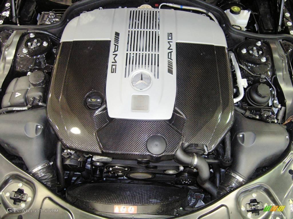 2009 mercedes benz sl 65 amg black series coupe 6 0 liter for Mercedes benz v12 engine