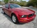 2006 Redfire Metallic Ford Mustang V6 Premium Coupe  photo #11