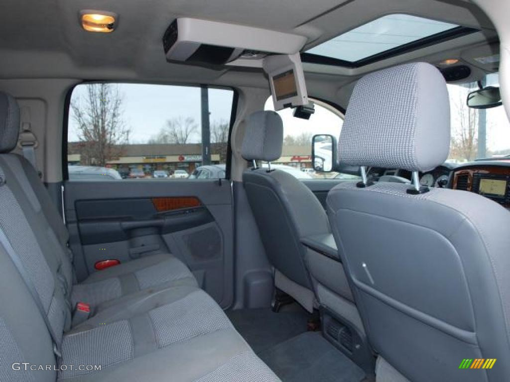 Medium Slate Gray Interior 2006 Dodge Ram 2500 Slt Mega Cab 4x4 Photo 44978593 Gtcarlot Com
