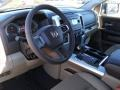 Light Pebble Beige/Bark Brown 2011 Dodge Ram 1500 Interiors