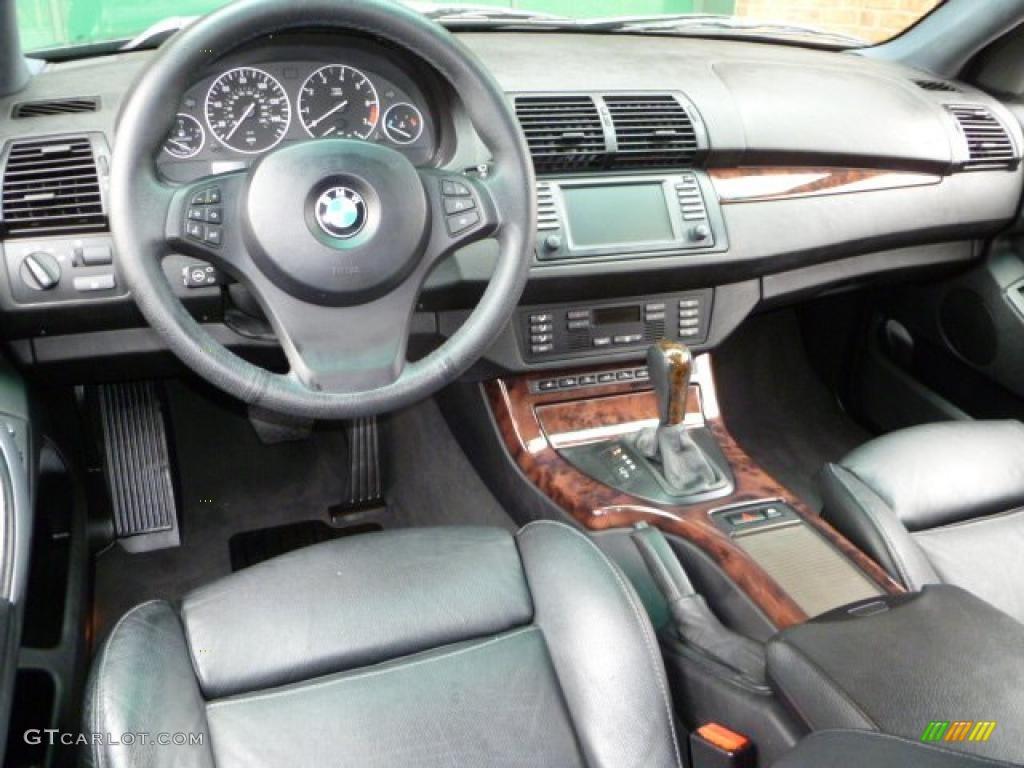 Black Interior 2006 BMW X5 44i Photo 44999806
