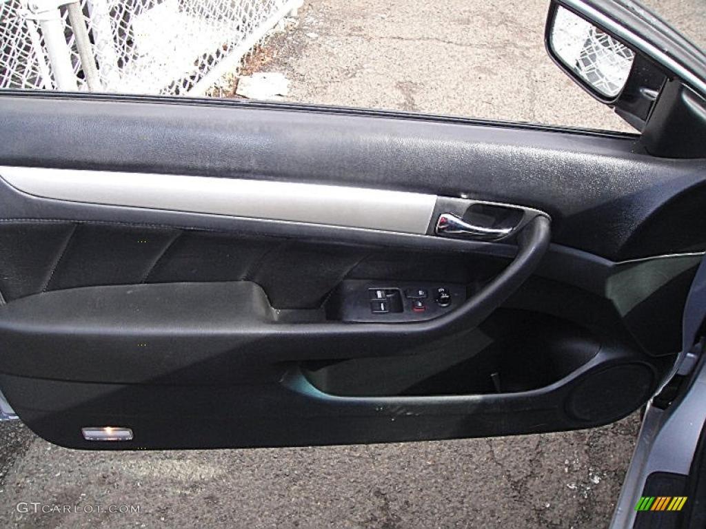 2003 Honda Accord Ex Coupe Black Door Panel Photo 45002692