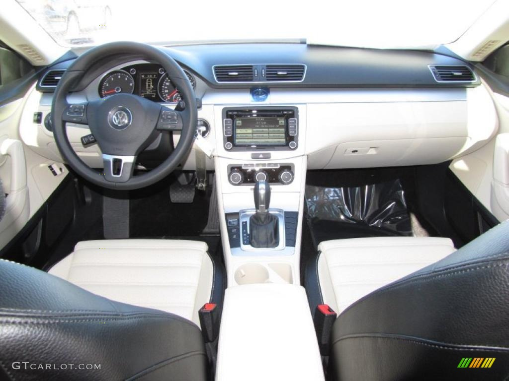 2012 volkswagen cc r line black cornsilk beige dashboard photo 45015411. Black Bedroom Furniture Sets. Home Design Ideas