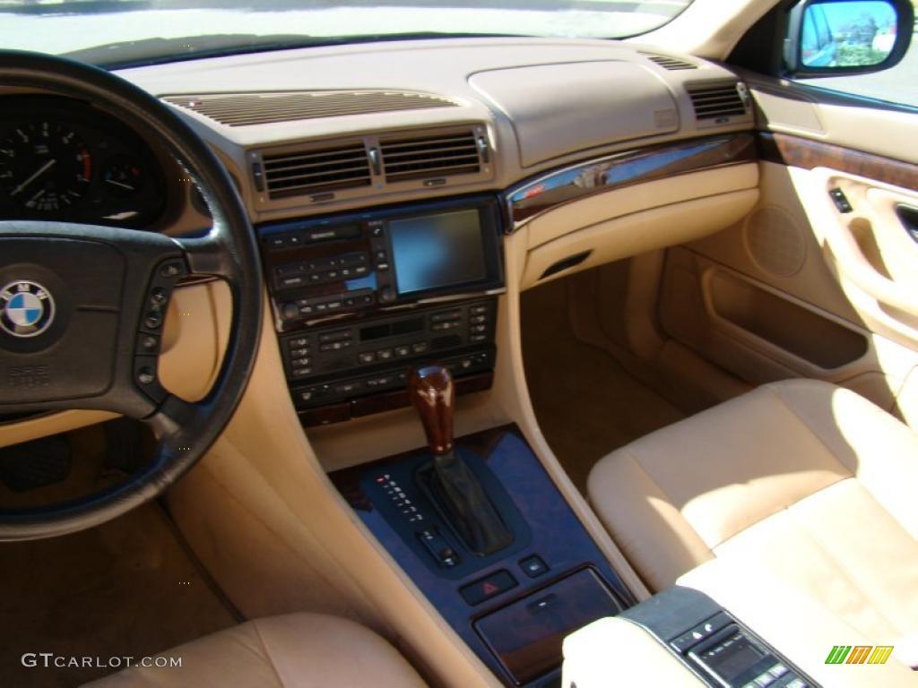 1998 Bmw 7 Series 750il Sedan Sand Dashboard Photo