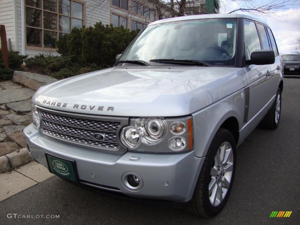 2008 Zermatt Silver Metallic Land Rover Range Rover V8