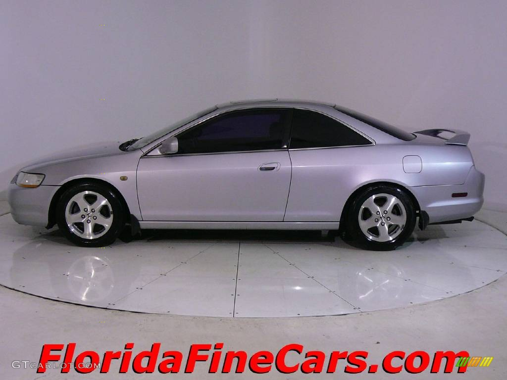 2000 Satin Silver Metallic Honda Accord EX V6 Coupe ...