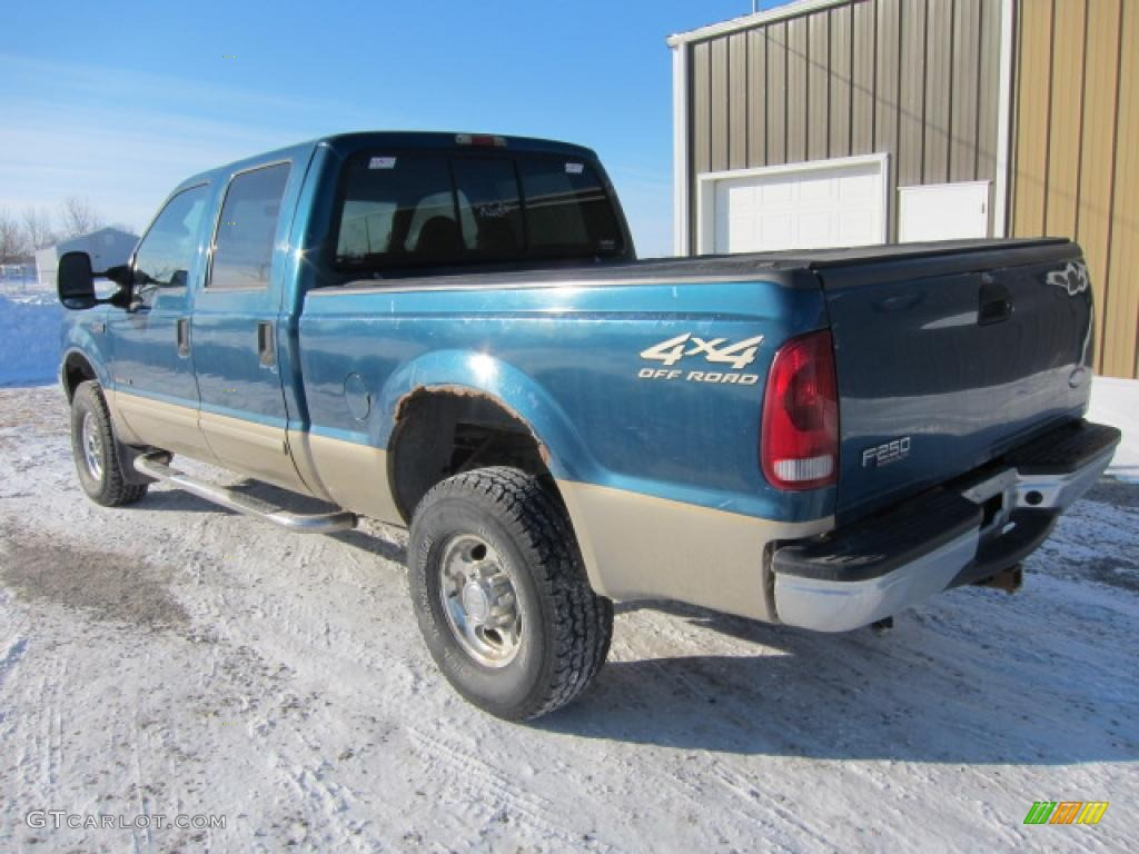 2000 Ford F250 Lariat Supercab Super Duty News >> 2001 Island Blue Metallic Ford F250 Super Duty Lariat Super Crew 4x4 #45033187 Photo #2 ...