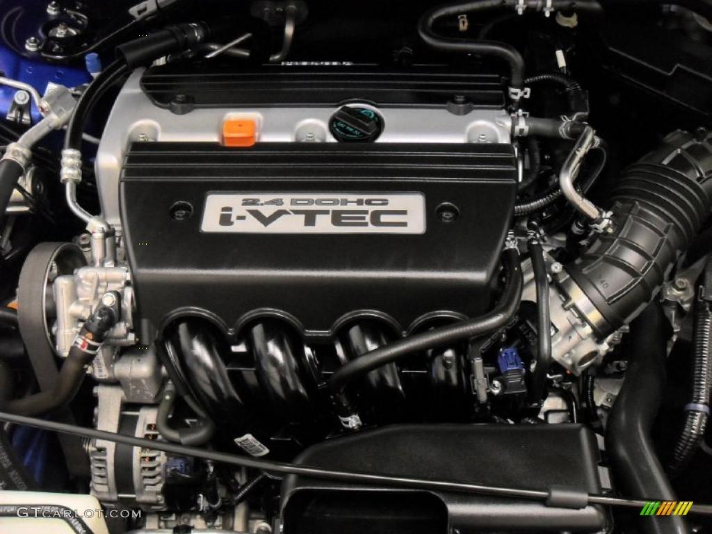 2009 Honda Accord Ex Coupe 2 4 Liter Dohc 16 Valve I Vtec