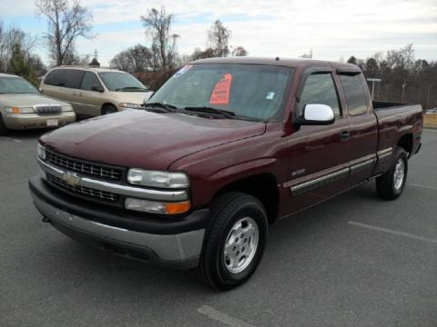 2002 Chevrolet Silverado 1500 LT Extended Cab 4x4 Data, Info and Specs