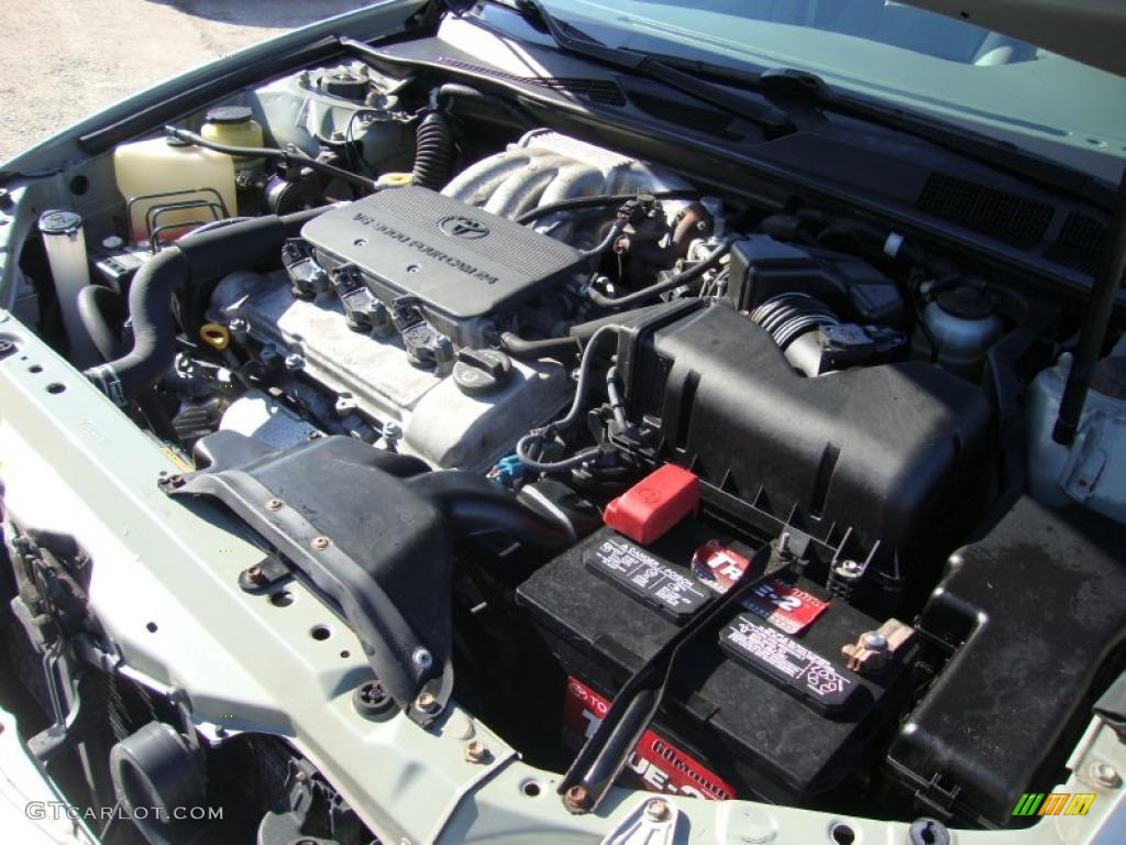 2002 Toyota Camry Xle V6 3 0 Liter Dohc 24 Valve V6 Engine Photo