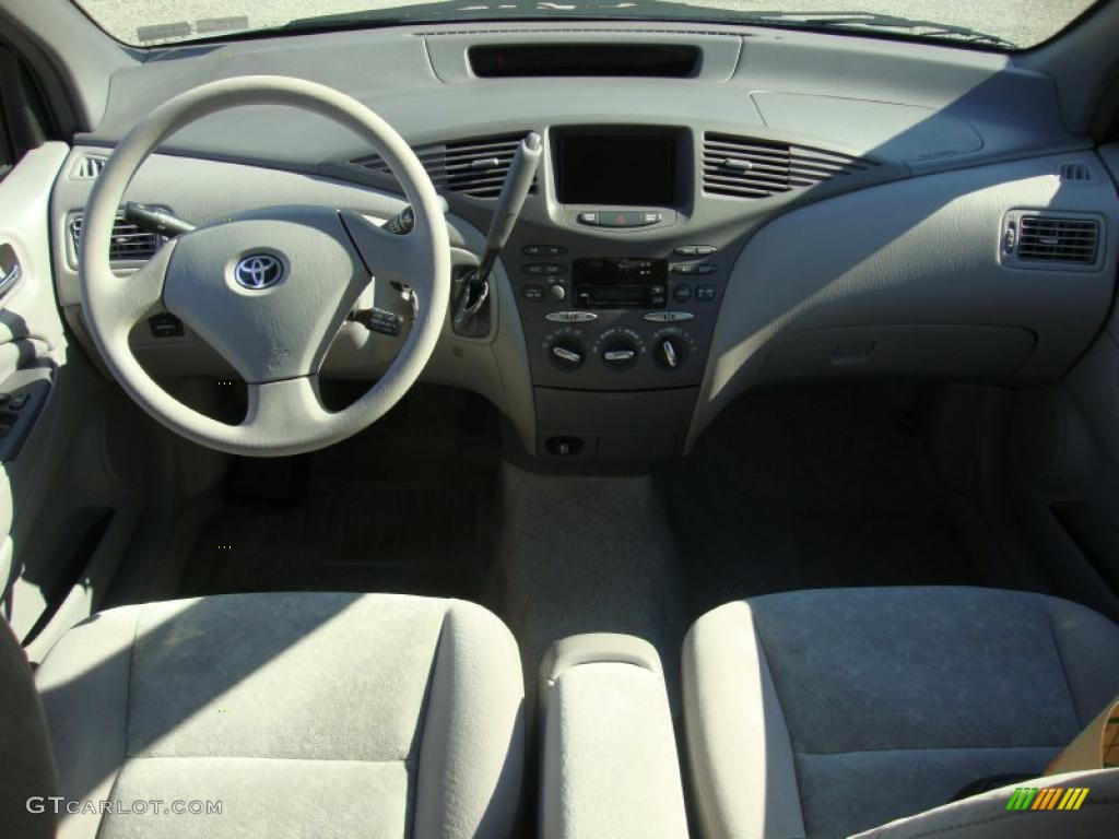 2002 Toyota Prius Hybrid Gray Dashboard Photo 45070728