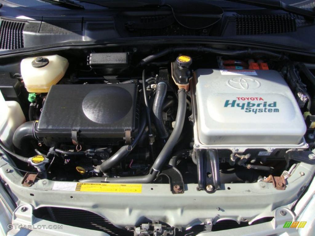 2002 Toyota Prius Hybrid 1 5 L Dohc 16v Vvt I 4 Cyl