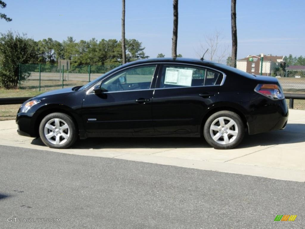 Super Black 2009 Nissan Altima Hybrid Exterior Photo