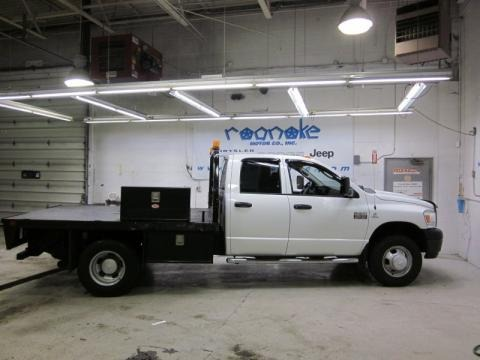 2007 Dodge Ram 3500 ST Quad Cab 4x4 Chassis Data, Info and Specs