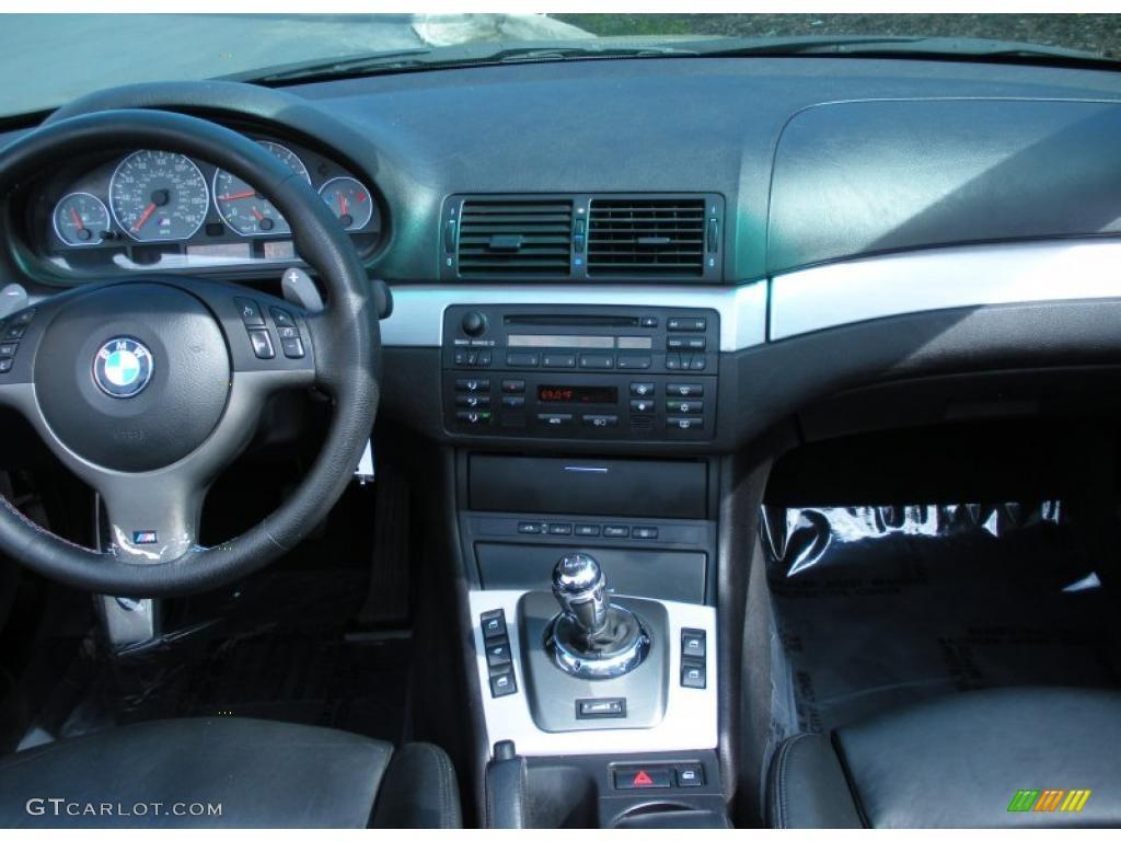 2006 Bmw M3 Convertible Black Dashboard Photo 45086804 Gtcarlot Com