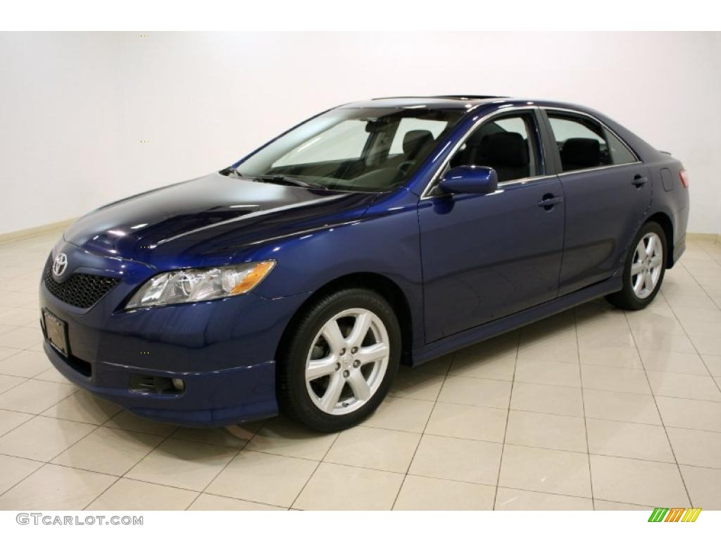 Blue Ribbon Metallic 2009 Toyota Camry Se Exterior Photo