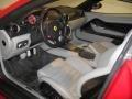 2007 Ferrari 599 GTB Fiorano Grey Interior Prime Interior Photo
