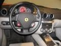 2007 Ferrari 599 GTB Fiorano Grey Interior Dashboard Photo