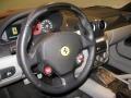 2007 Ferrari 599 GTB Fiorano Grey Interior Steering Wheel Photo