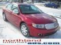 2008 Vivid Red Metallic Lincoln MKZ Sedan  photo #15