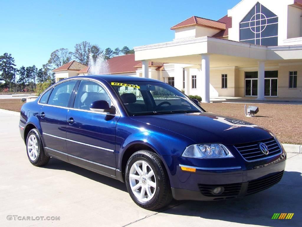 2004 shadow blue metallic volkswagen passat gls tdi sedan 4505885 car color. Black Bedroom Furniture Sets. Home Design Ideas