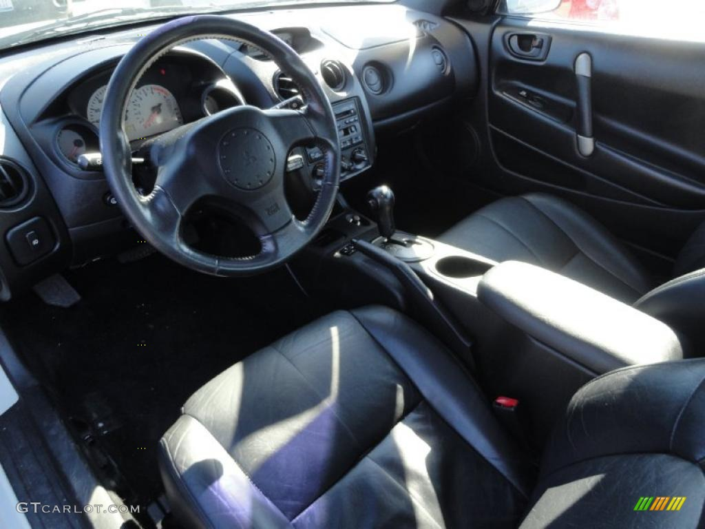 Black Interior 2001 Mitsubishi Eclipse Gt Coupe Photo