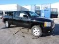 2011 Black Chevrolet Silverado 1500 LT Extended Cab 4x4  photo #1