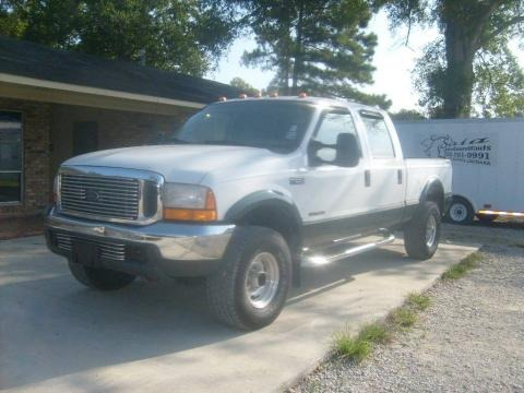 2000 Ford F250 Super Duty XL Crew Cab 4x4 Data, Info and Specs