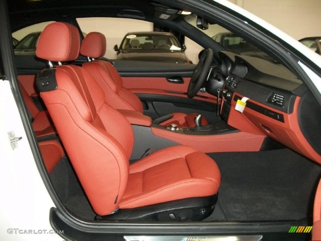 Fox Red Novillo Leather Interior 2011 BMW M3 Coupe Photo ...  Fox Red Novillo...
