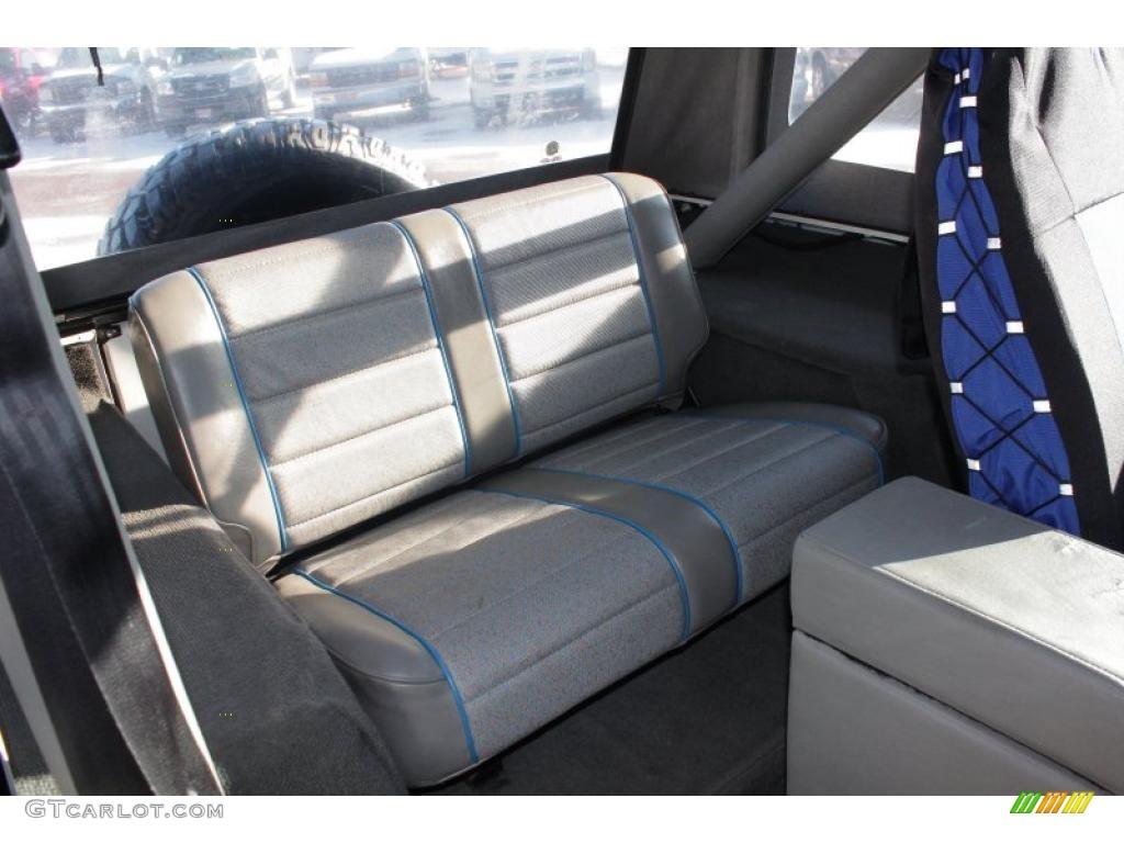 1989 Jeep Wrangler Islander 4x4 Interior Photo 45143886 Gtcarlot Com
