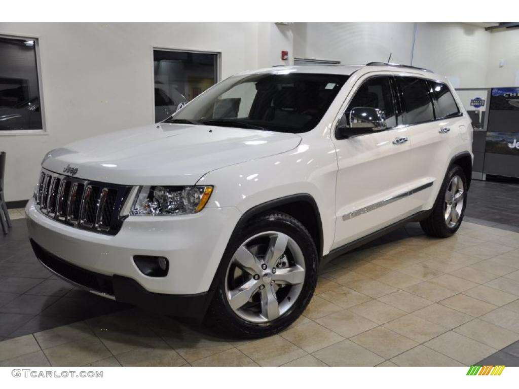 stone white 2011 jeep grand cherokee overland 4x4 exterior photo. Cars Review. Best American Auto & Cars Review
