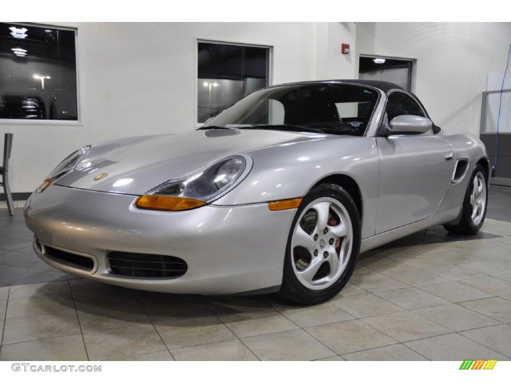arctic silver metallic 2000 porsche boxster s exterior. Black Bedroom Furniture Sets. Home Design Ideas