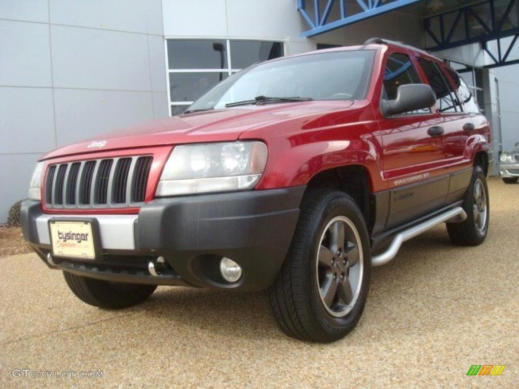 Inferno red pearl jeep grand cherokee