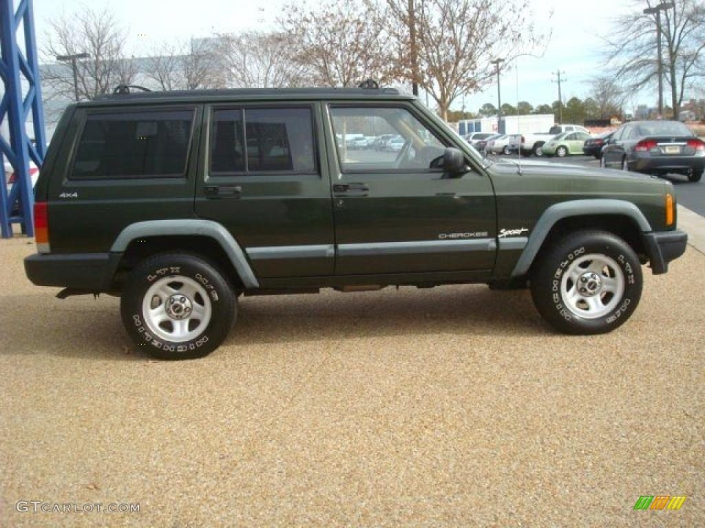 moss green pearl 1998 jeep cherokee sport 4x4 exterior photo 45154459. Cars Review. Best American Auto & Cars Review