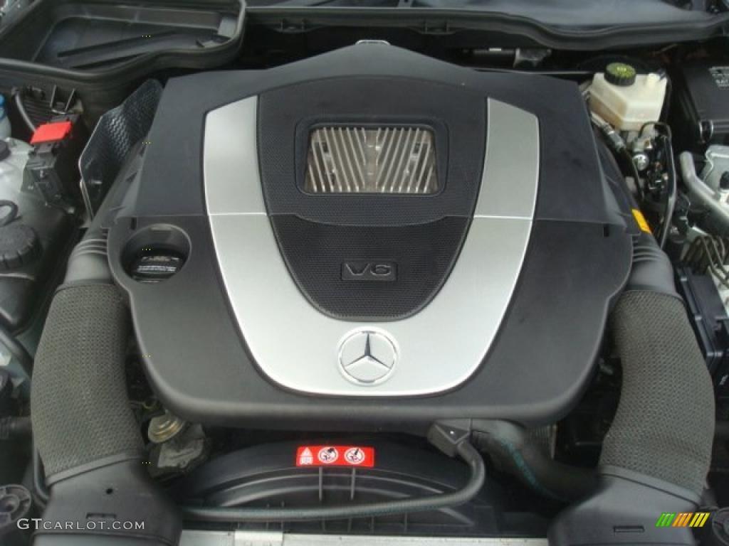 2005 mercedes benz slk 350 roadster 3 5 liter dohc 24 for Mercedes benz 3 5 v6 engine