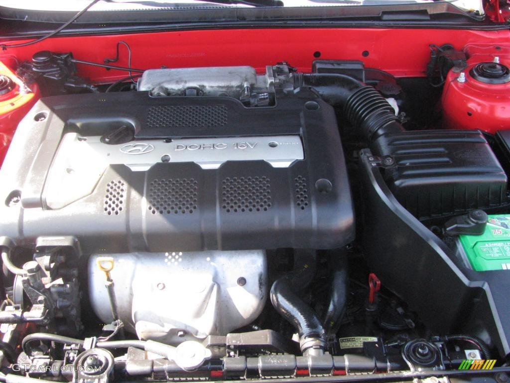 2001 Hyundai Elantra Gt 2 0 Liter Dohc 16 Valve 4 Cylinder Engine Photo 45160584 Gtcarlot Com