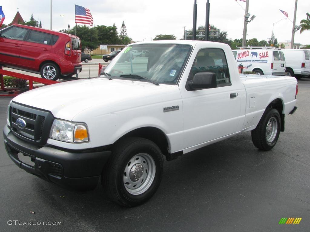 oxford white 2006 ford ranger xl regular cab exterior photo 45162001. Black Bedroom Furniture Sets. Home Design Ideas