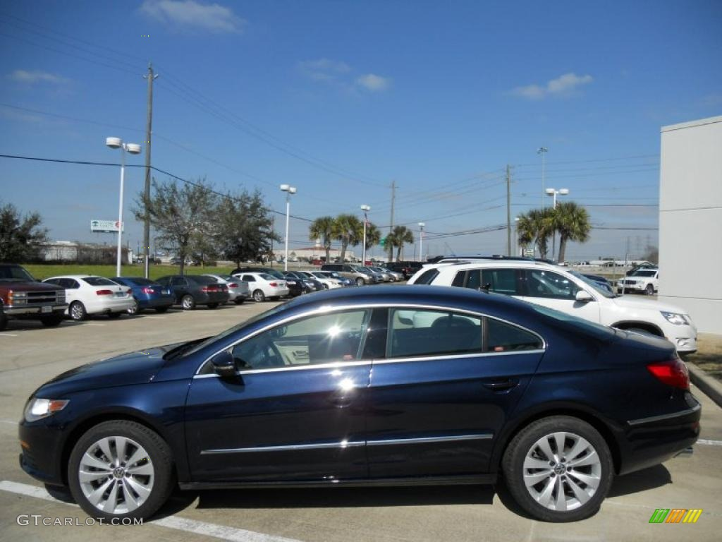 night blue metallic 2012 volkswagen cc sport exterior photo 45164281. Black Bedroom Furniture Sets. Home Design Ideas