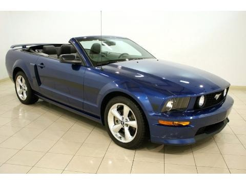 2007 ford mustang gt cs california special convertible data info and specs. Black Bedroom Furniture Sets. Home Design Ideas