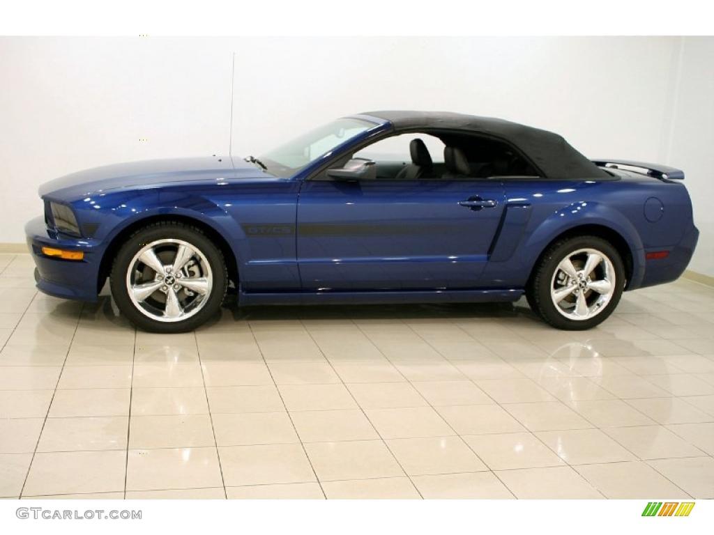 Vista Blue Metallic 2007 Ford Mustang Gt Cs California