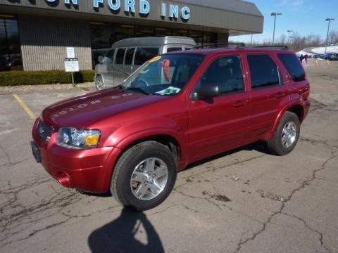 2005 ford escape limited 4wd data info and specs. Black Bedroom Furniture Sets. Home Design Ideas