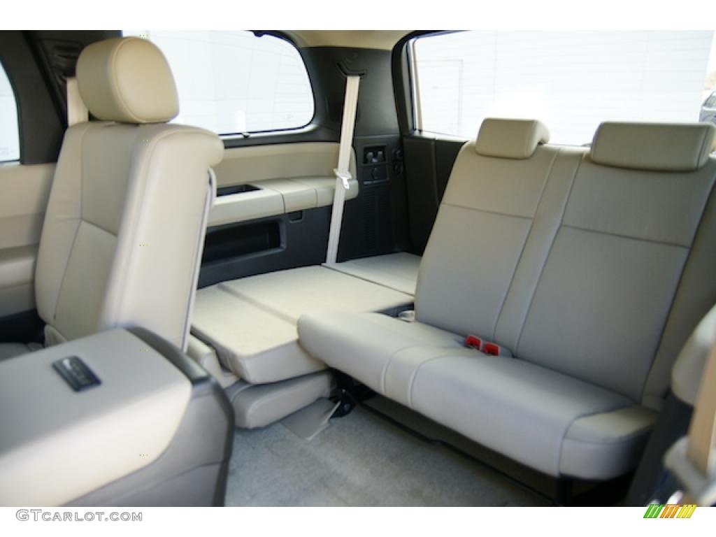 Sand beige interior 2011 toyota sequoia platinum 4wd photo - Toyota sequoia interior dimensions ...