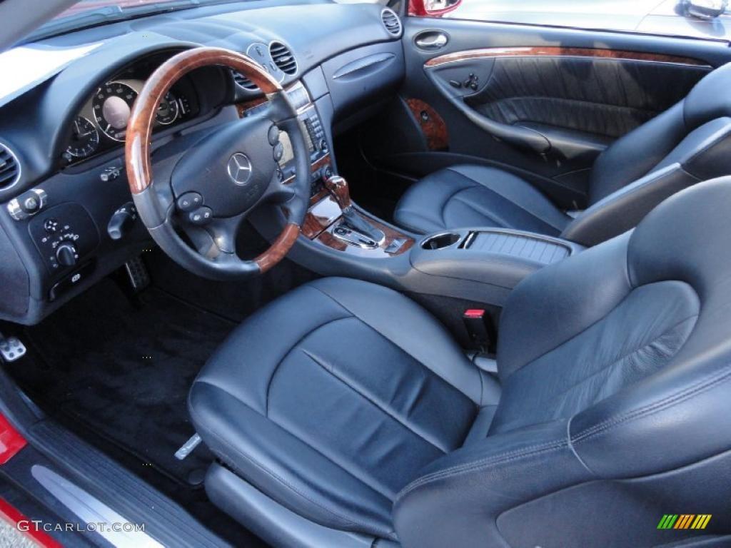 Black interior 2008 mercedes benz clk 550 cabriolet photo 45186437 gtcarlot com