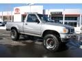 Silver Metallic 1993 Toyota Pickup Deluxe Regular Cab 4x4