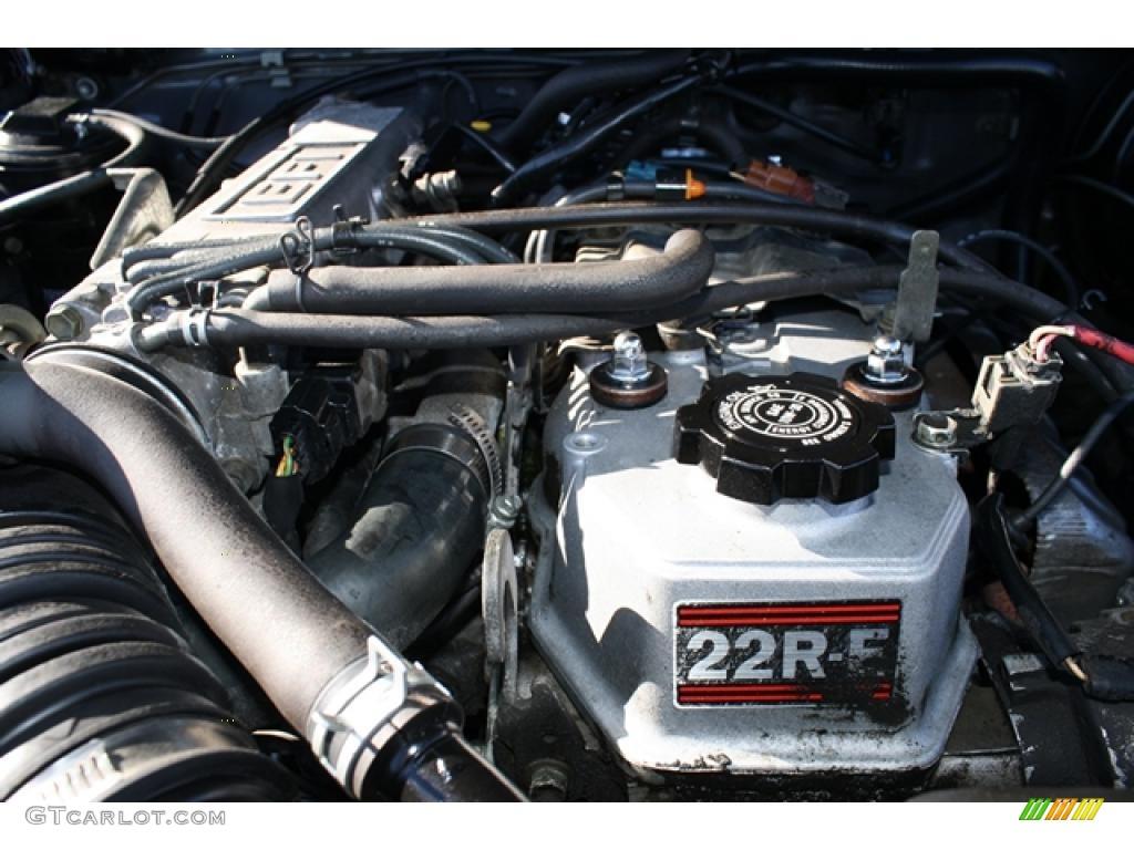 1993 Toyota Pickup Deluxe Regular Cab 4x4 2 4 Liter Sohc 8
